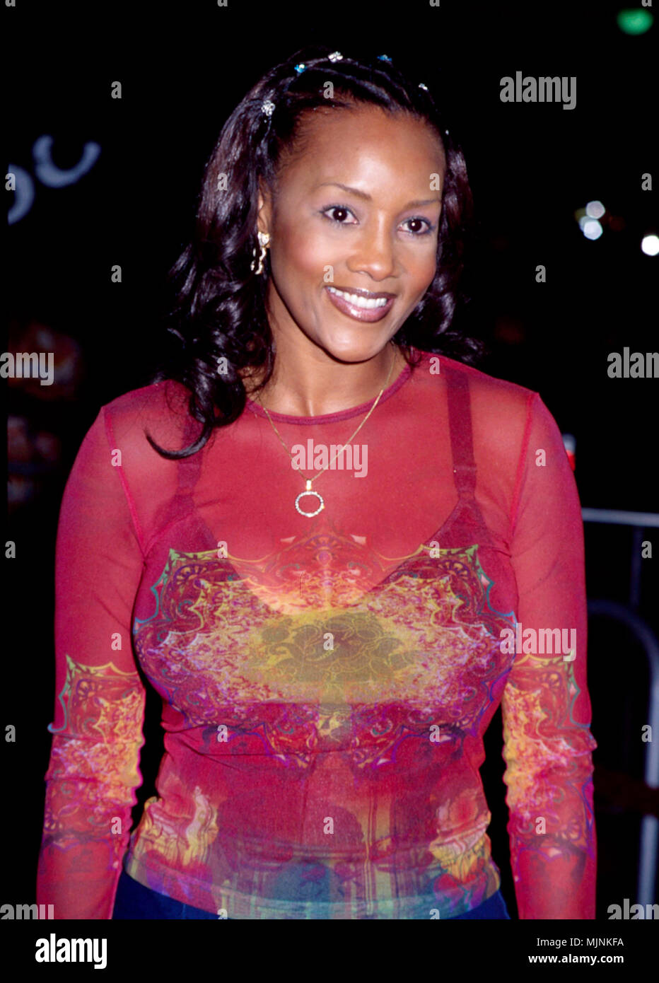 Vivica Fox at The Best Man Premiere --- ' Tsuni / - 'Vivica Fox  Vivica Fox  one person, Vertical, Best of, Hollywood Life, Event in Hollywood Life - California,  Red Carpet Event, Vertical, USA, Film Industry, Celebrities,  Photography, Bestof, Arts Culture and Entertainment, , , Topix - Stock Image