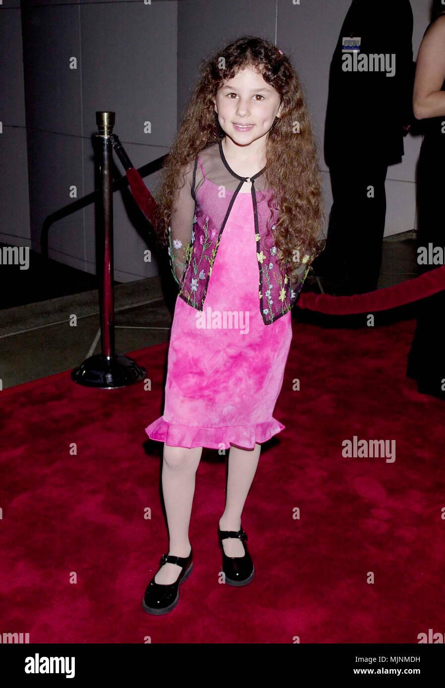25 Sep 2000, Los Angeles, California, USA --- Hallie Kate