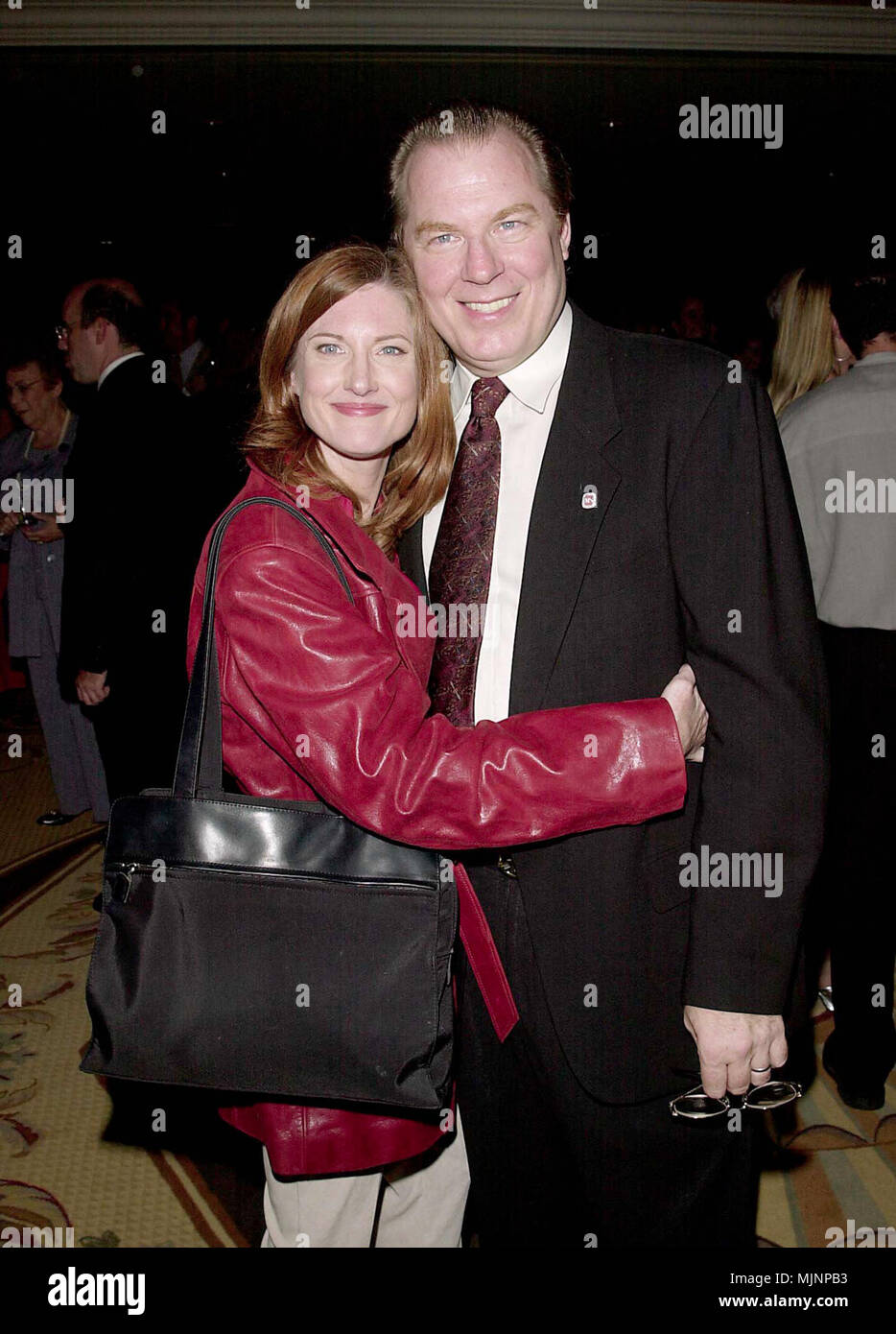 """02 Oct 2000, Los Angeles, California, USA --- Original caption: Dinner of Champions - Organized by the National Multiple Sclerosis Society at the Century Plaza. --- """" Tsuni / Bourquard """"Michael McKean and Annette O'Toole Michael McKean and Annette O'Toole Michael McKean and Annette O'Toole Event in Hollywood Life - California,  Red Carpet Event, Vertical, USA, Film Industry, Celebrities,  Photography, Bestof, Arts Culture and Entertainment, Topix  Celebrities fashion /  from the Red Carpet-1994-2000, one person, Vertical, Best of, Hollywood Life, Event in Hollywood Life - California,  Red Carp Stock Photo"""