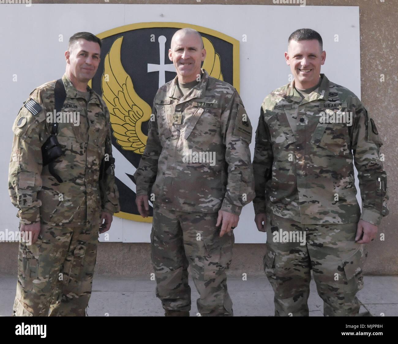 The 449th Combat Aviation Brigade Commander Lt  Col  Joseph Bishop