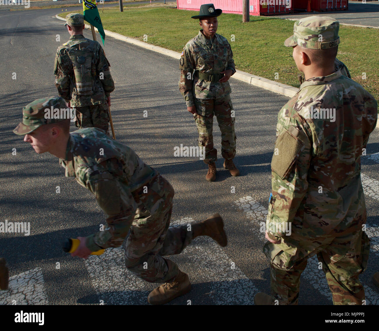 Sgt  1st Class Shereka Danzy is the first female New Jersey