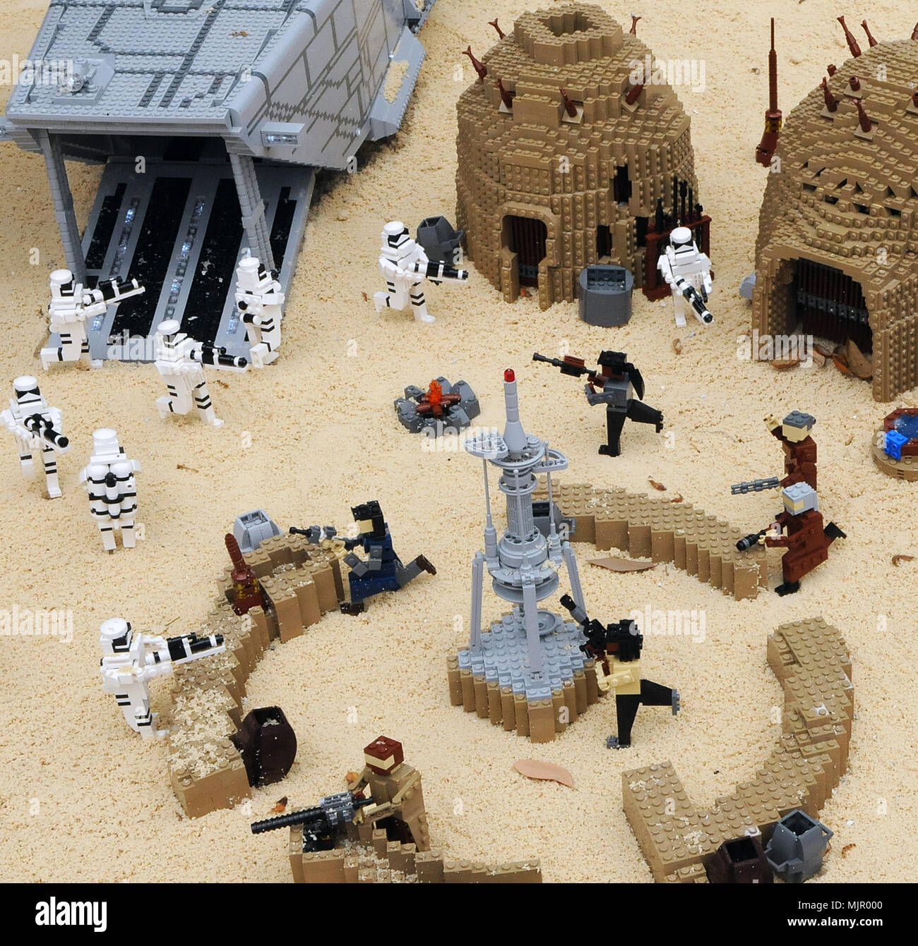 Winter Haven Florida Usa May 5 2018 The Force Awakens Miniland