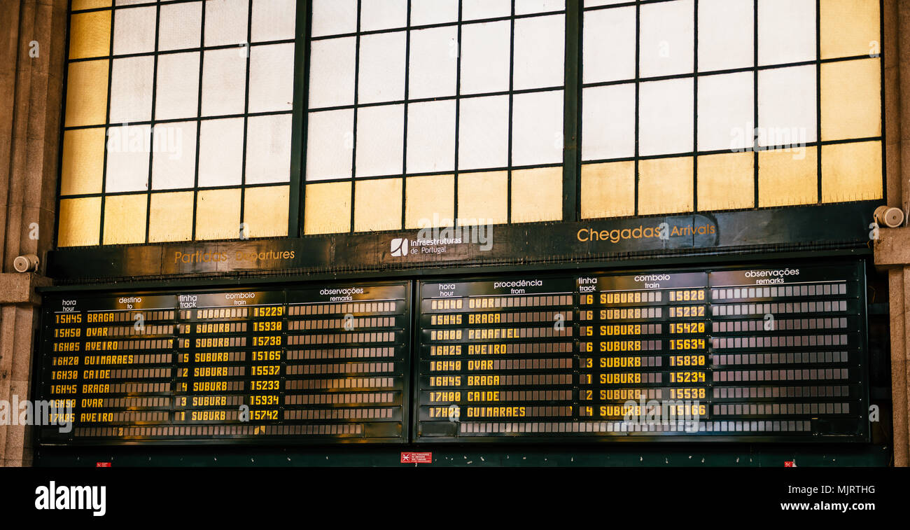 Times Of Departure And Arrival Times Stock Photos & Times Of