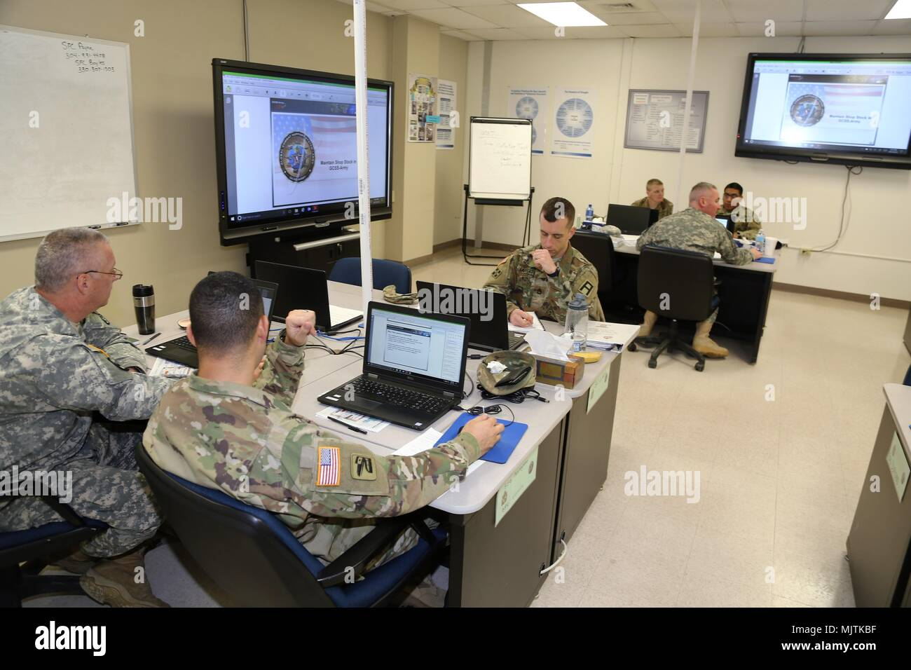 Soldiers Participate In The Career Management Field 9194 Ordnance