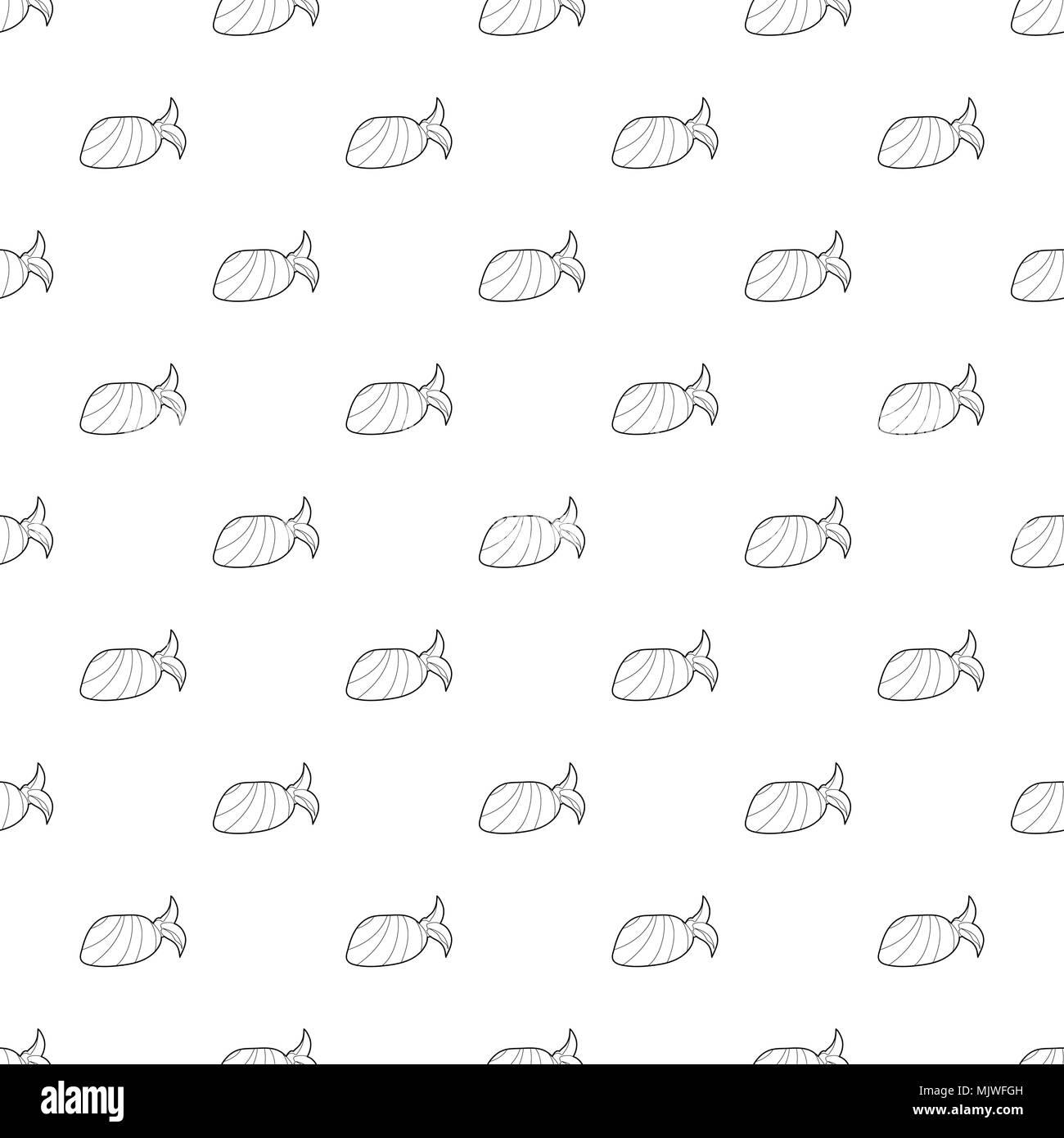 Bandana pattern vector seamless - Stock Image