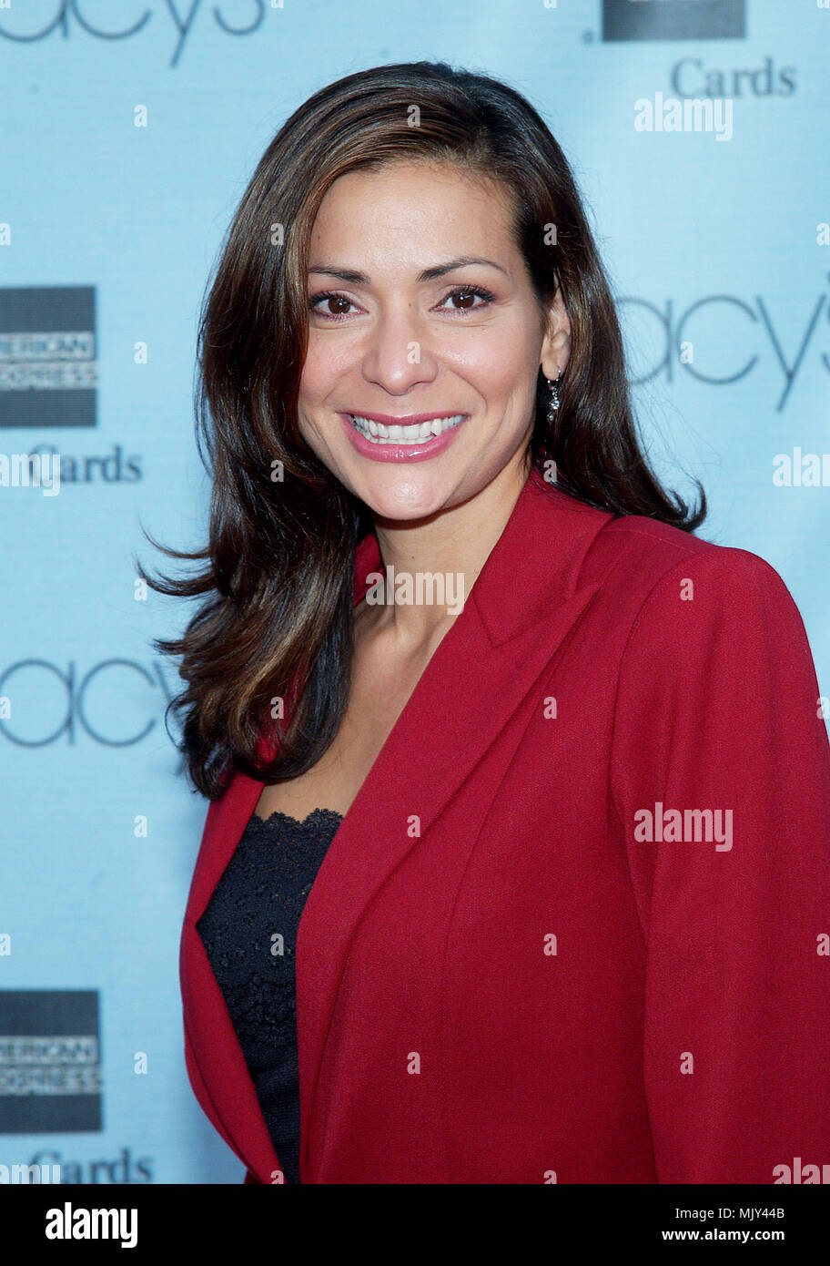 Constance Marie arriving at the 20th Macy's and American Express Anniversary Gala at the Barker Hangar in Santa Monica Los Angeles. September 28, 2002.           -            ConstanceMarie008A.jpgConstanceMarie008A  Event in Hollywood Life - California,  Red Carpet Event, Vertical, USA, Film Industry, Celebrities,  Photography, Bestof, Arts Culture and Entertainment, Topix Celebrities fashion /  from the Red Carpet-, one person, Vertical, Best of, Hollywood Life, Event in Hollywood Life - California,  Red Carpet and backstage, USA, Film Industry, Celebrities,  movie celebrities, TV celebritie - Stock Image