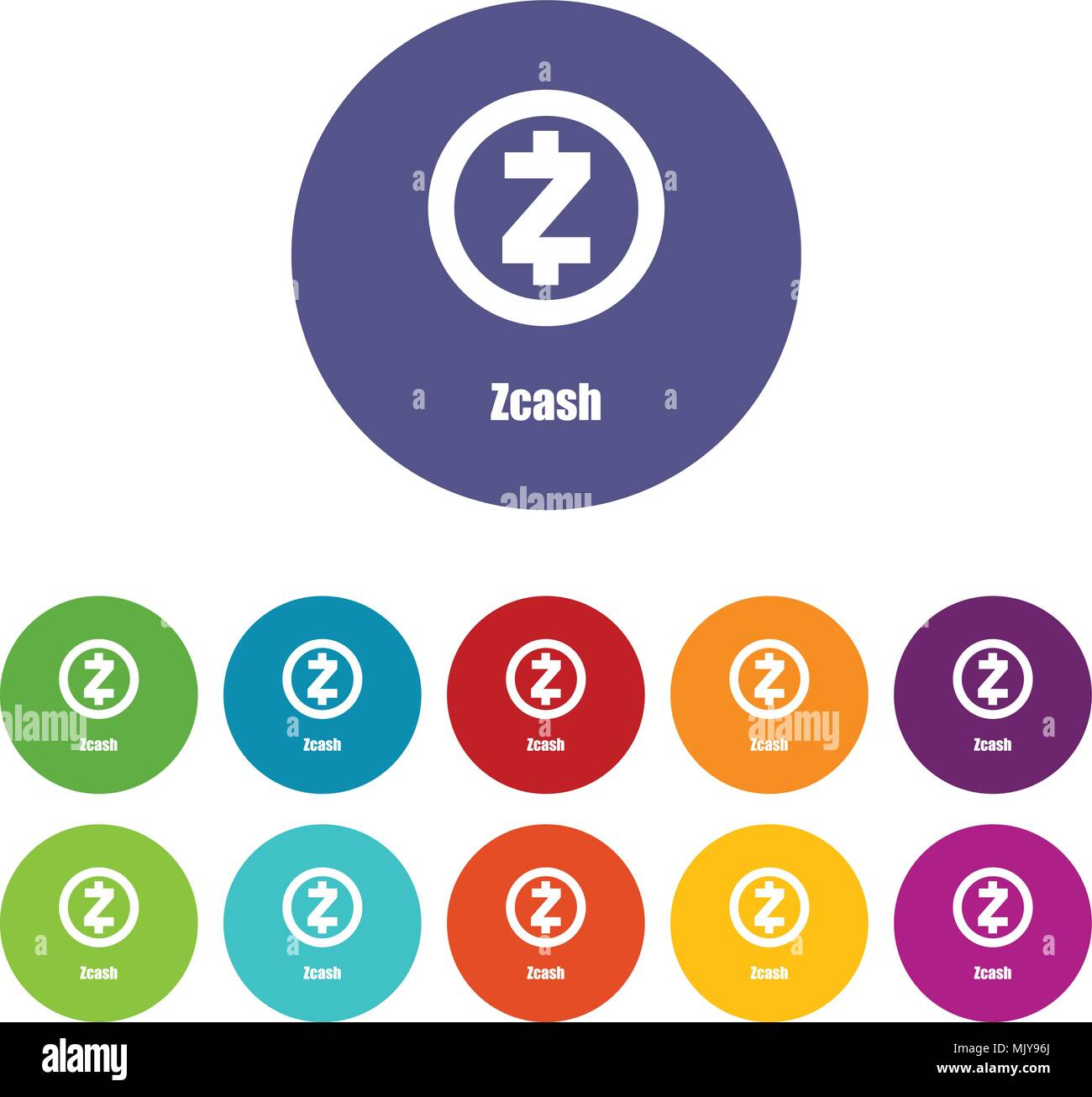 Zcash Icon Simple Style