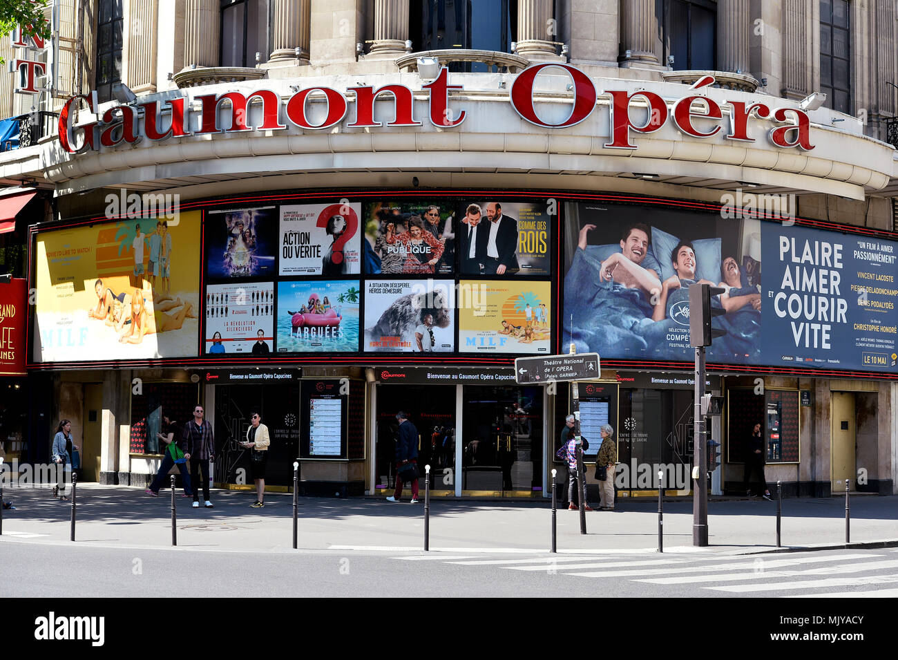 Gaumont Opéra Cinema - Paris - France Stock Photo - Alamy