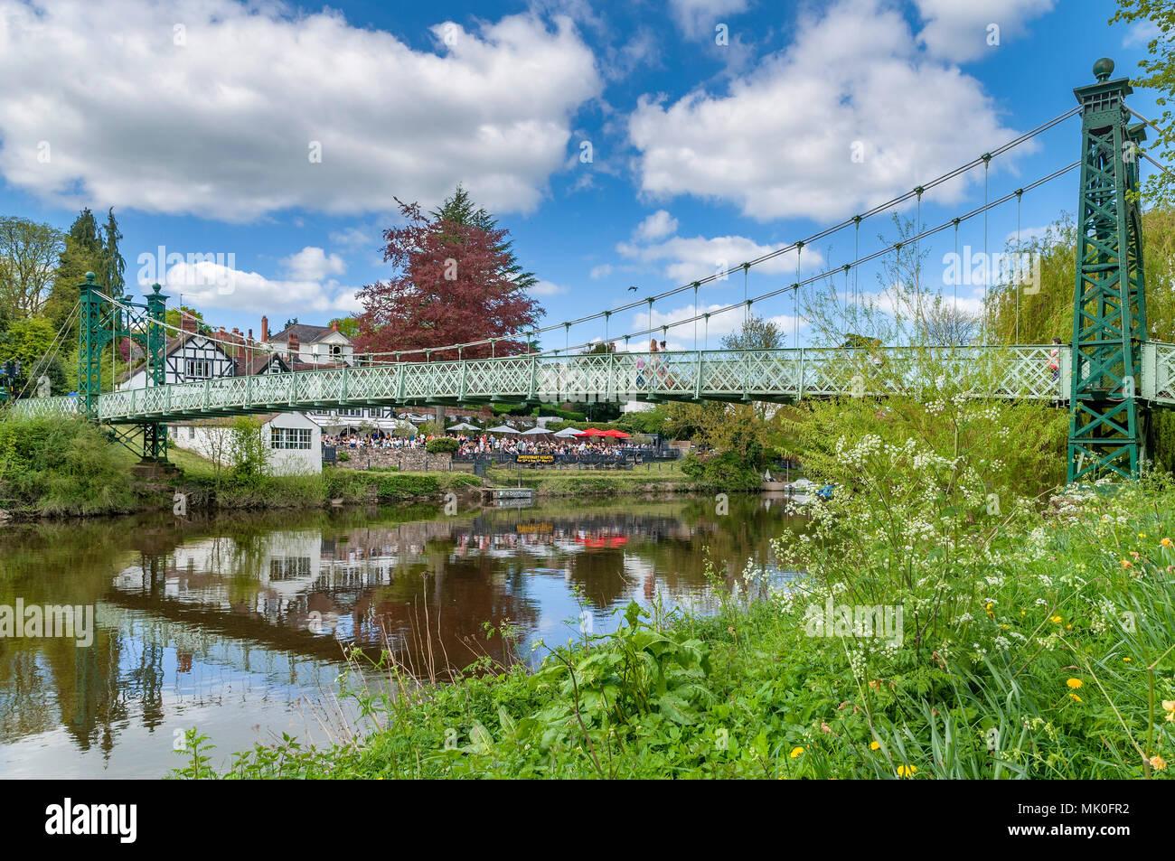 Shrewsbury River Severn - Stock Image