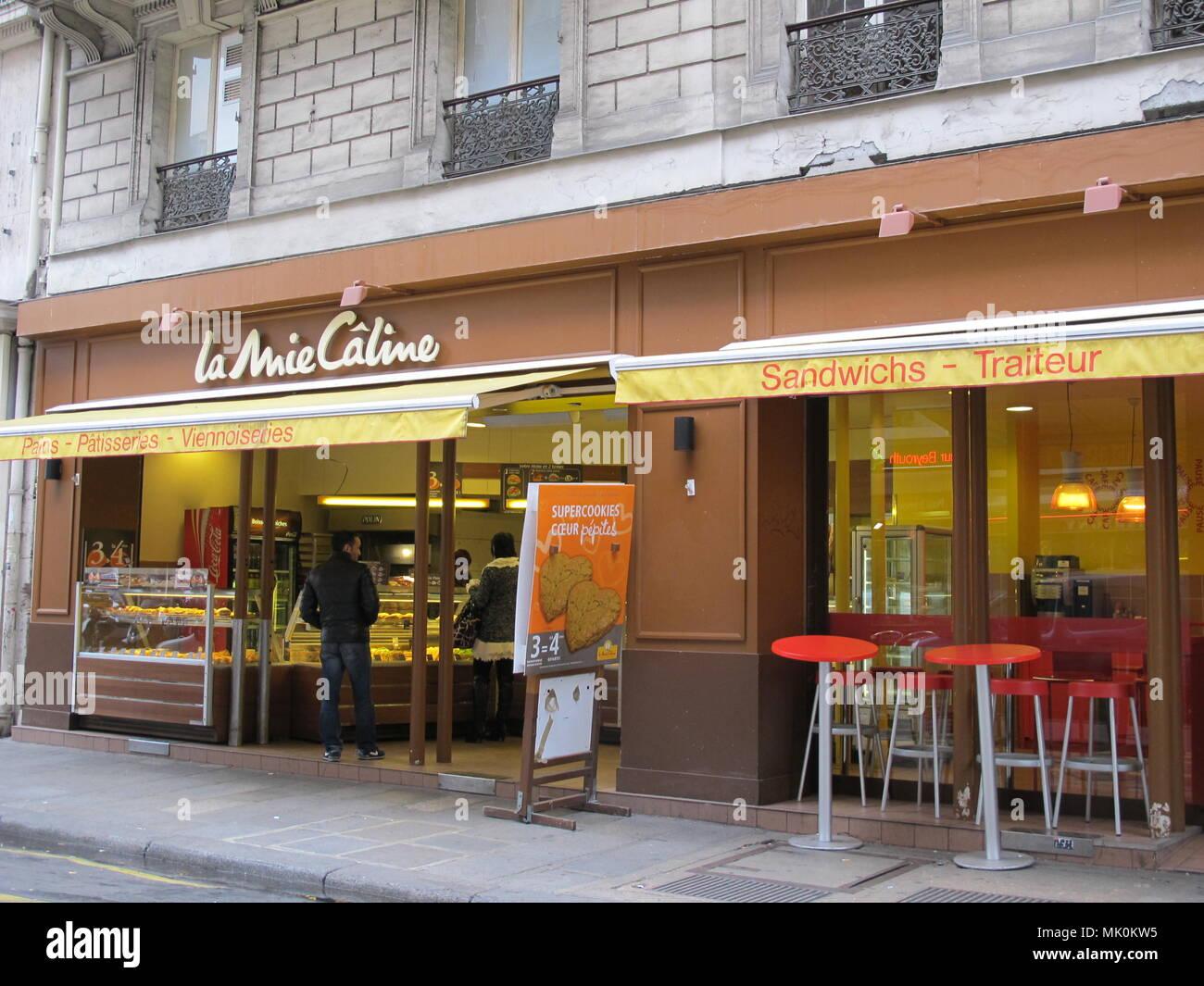 Paris Gourmet - Stock Image