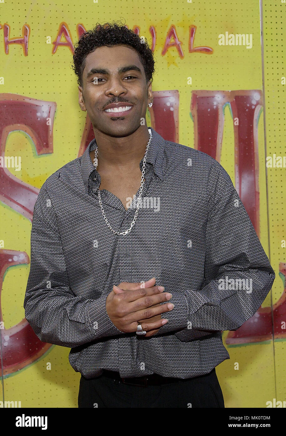 Ginuwine at the arrival of the 7th Annual Soul Train, Lady of Soul