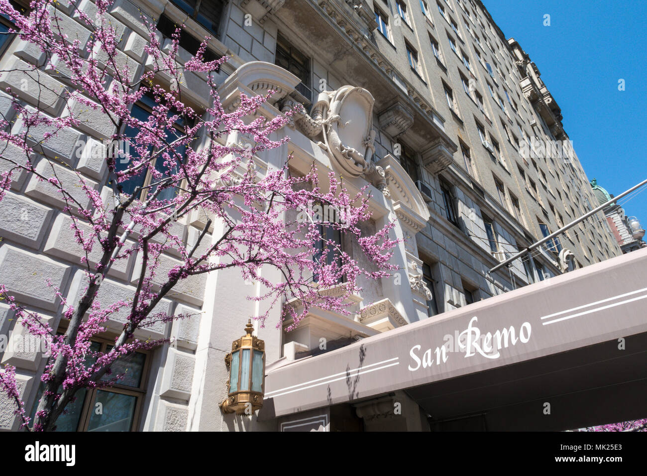 San Remo, 145 Central Park West, NYC - Stock Image