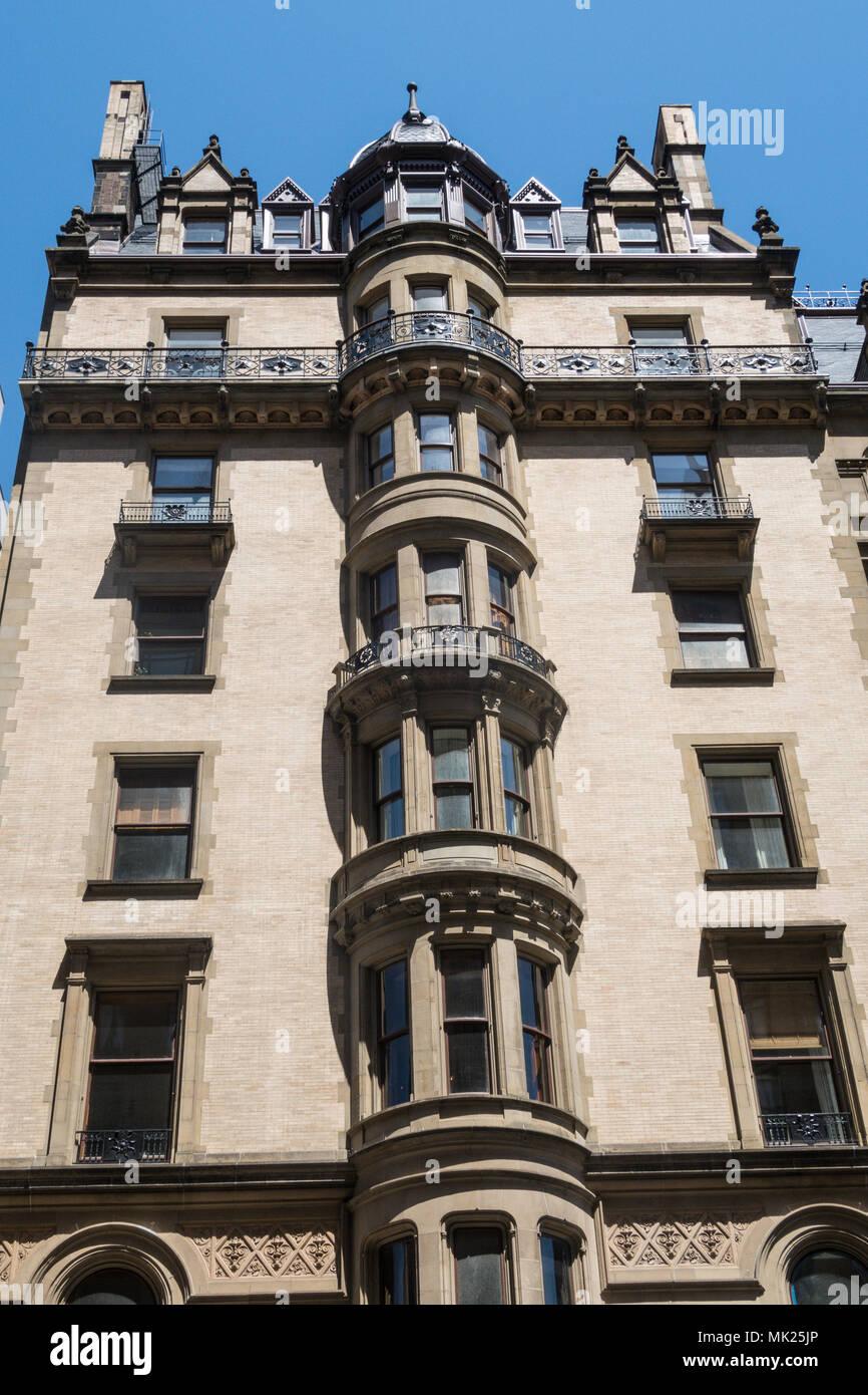 the Dakota Apartment Building, NYC, USA Stock Photo