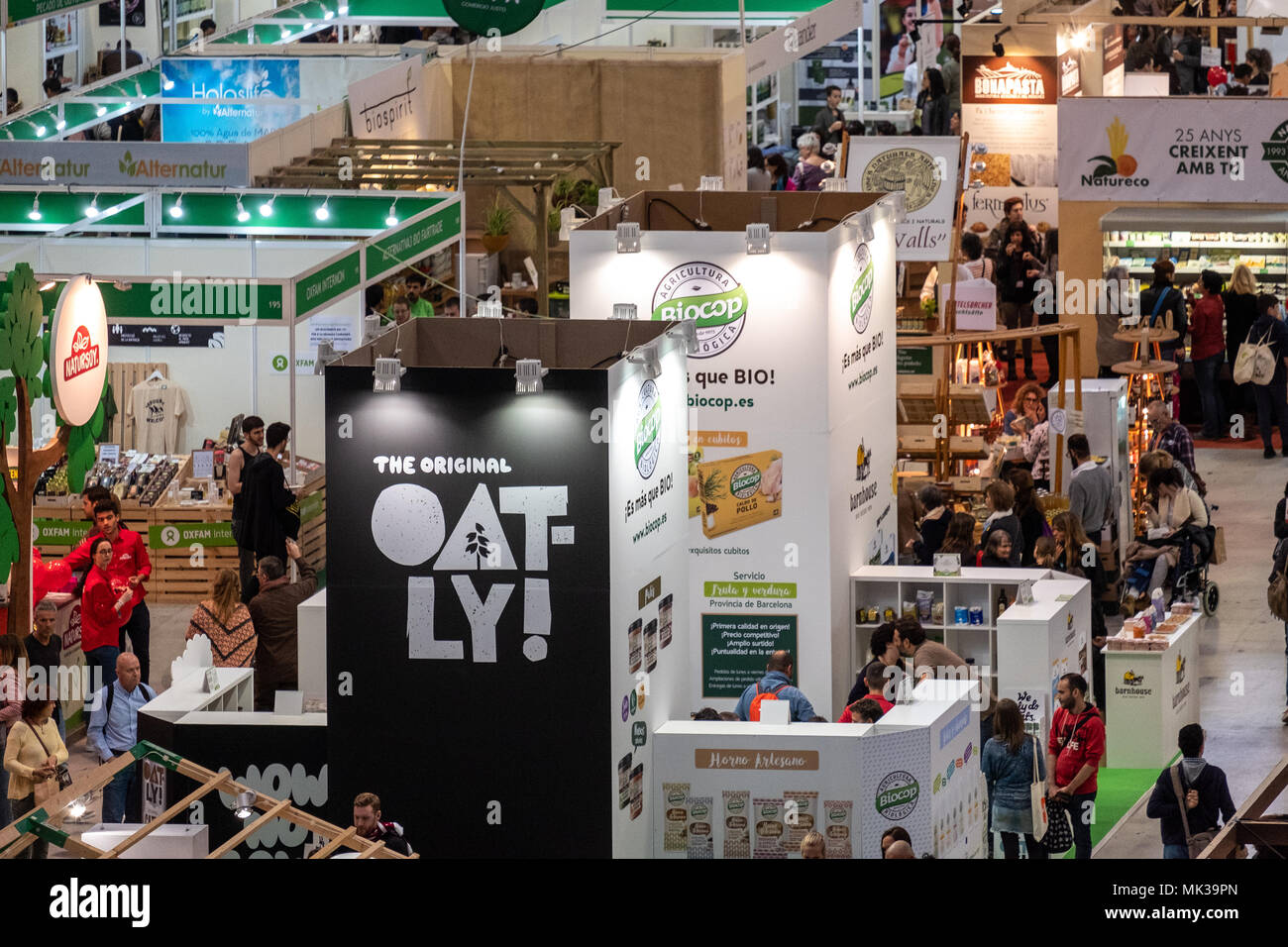 General view of BioCultura, the Organic Products Fair and