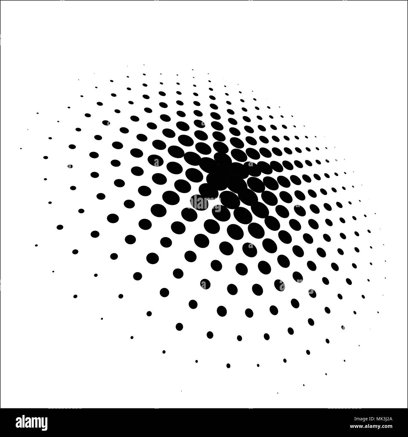 Dot Pattern Halftone Dots Design Halftone Pattern Vector Background