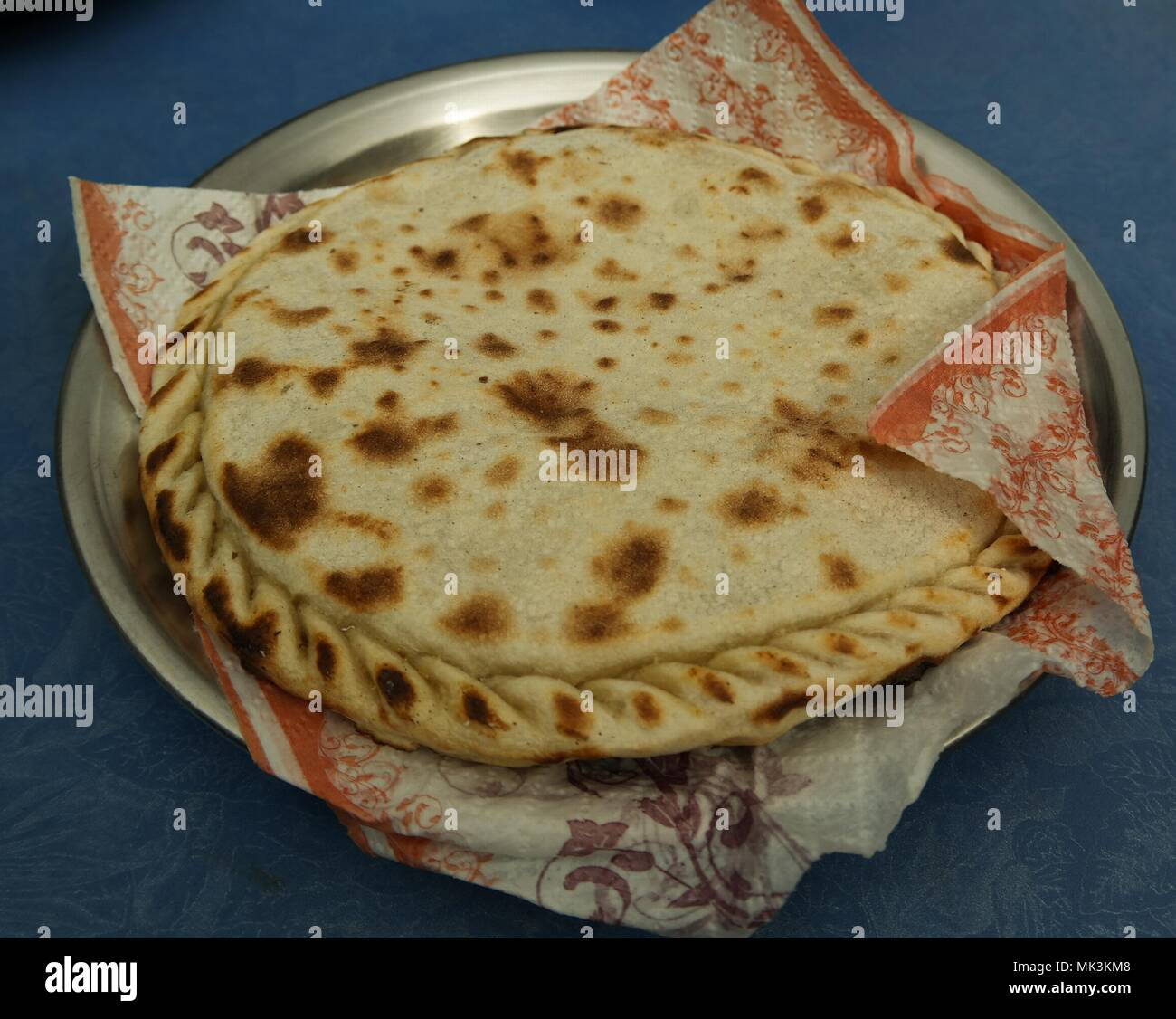 Chapshuro the most delicious dish of Gilgit Baltistan at Pakistan - Stock Image