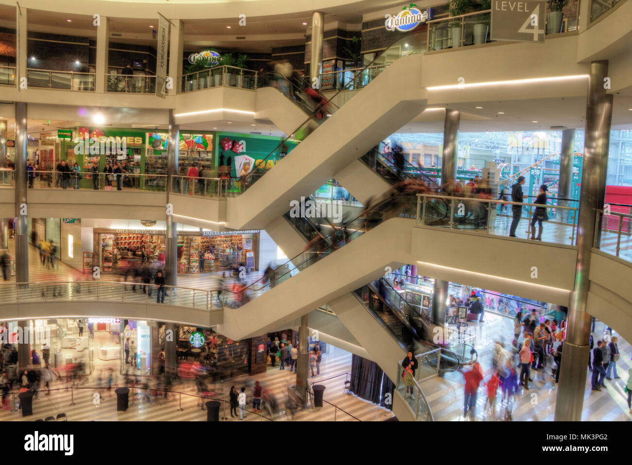 The Mall of America is a Major Shopping Center in The Twin Cities of Minnesota known Nationwide - Stock Image