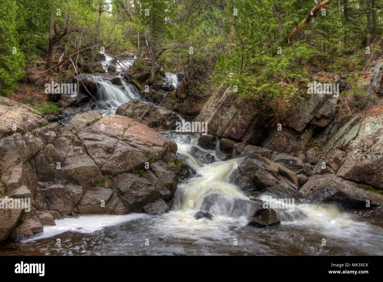Congdon is one of the many city parks in Duluth, Minnesota - Stock Image