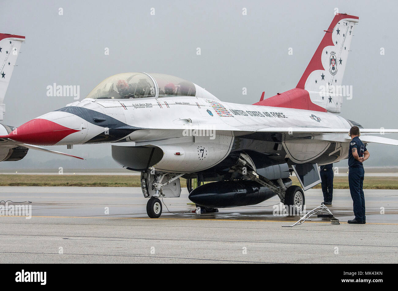 bbe79179 Kevin Walsh, U.S. Air Force Aerial Demonstration Squadron pilot Thunderbird  #