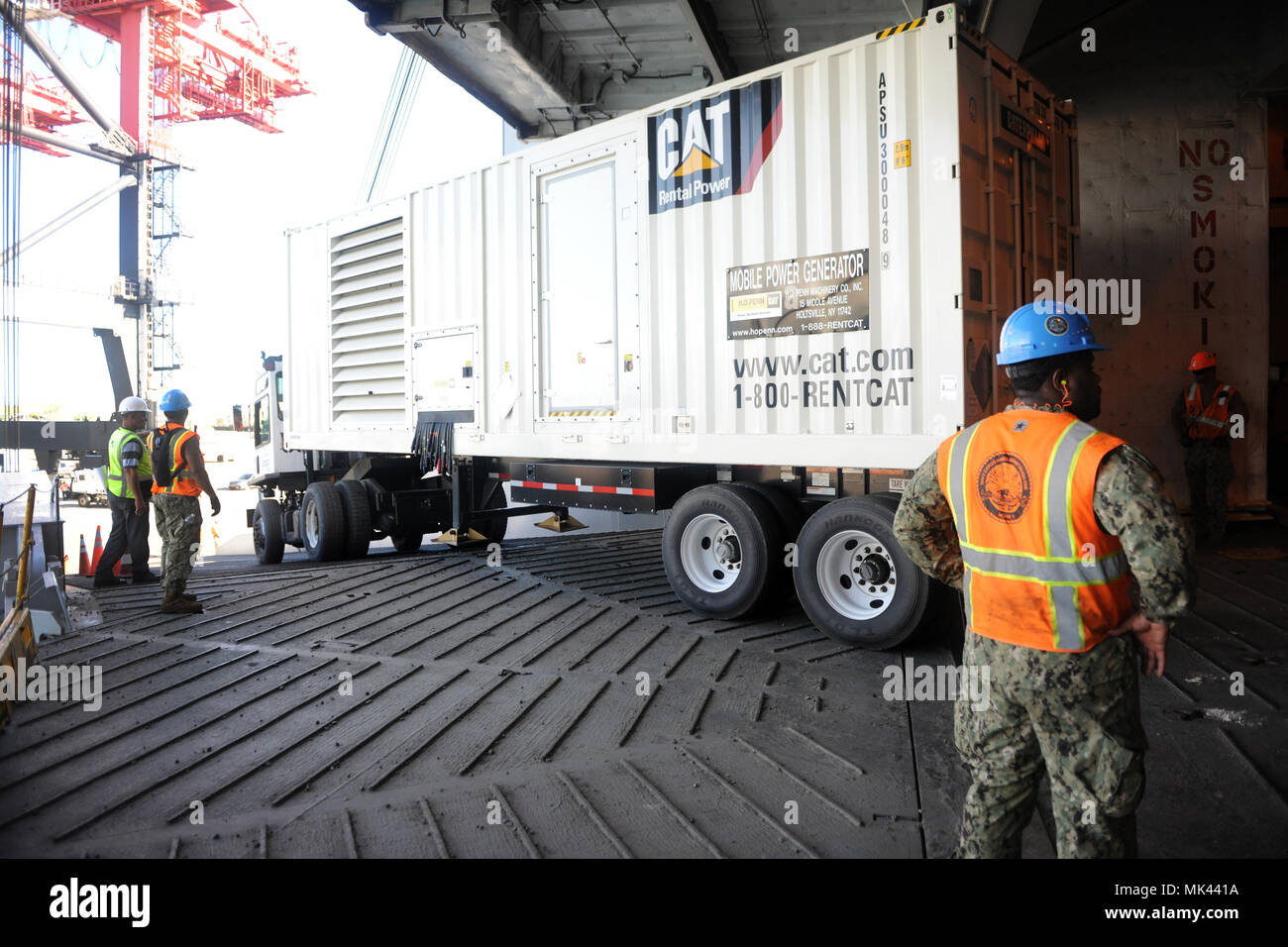 PONCE, Puerto Rico – A commercial sized mobile power
