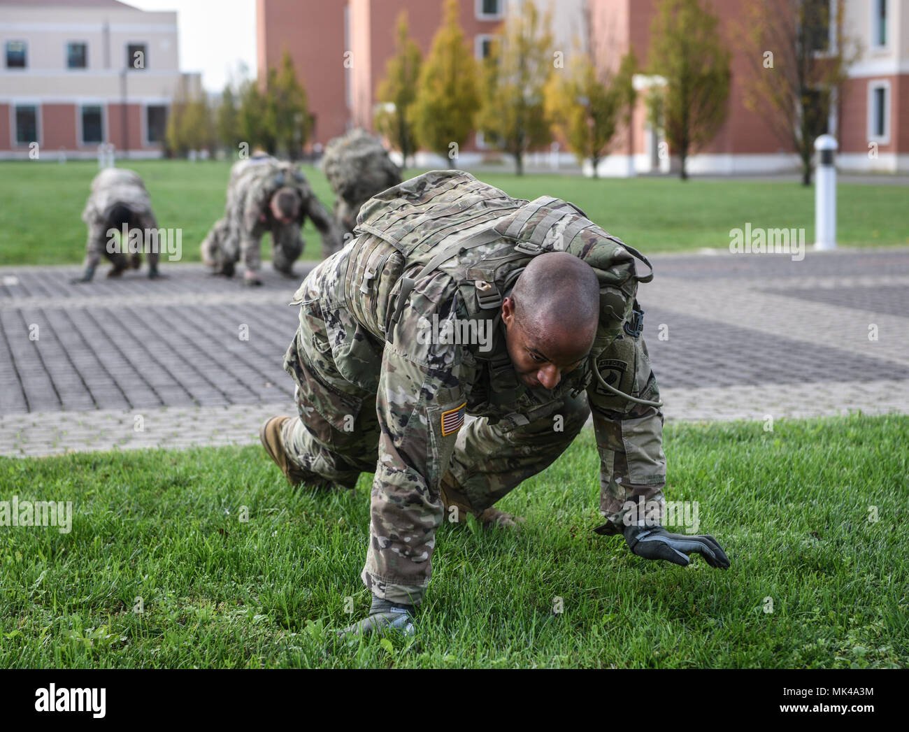 VICENZA, Italy -- Paratroopers from 2nd Bn , 503rd Infantry Regiment
