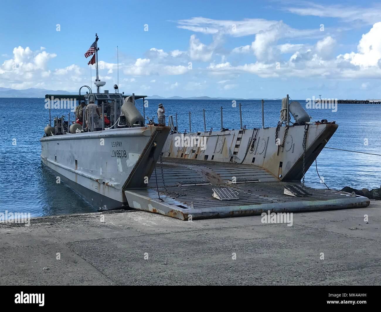 CIEBA, Puerto Rico - A army Landing Craft Mechanized