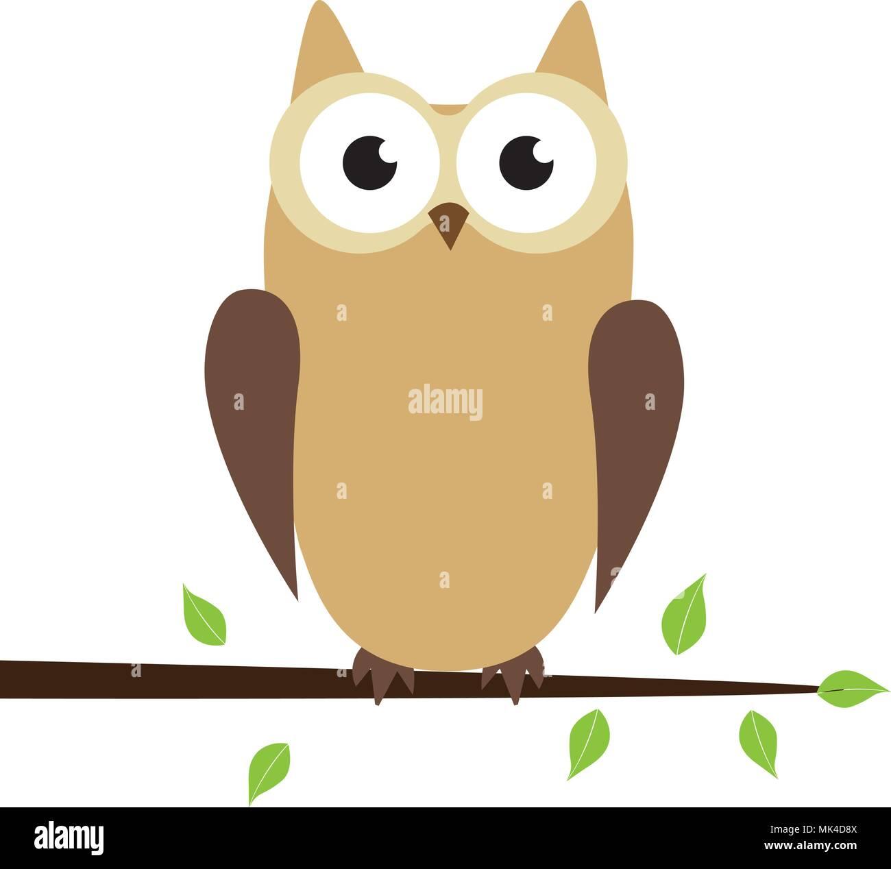 Vector illustration of cute cartoon owl vector designs for baby vector illustration of cute cartoon owl vector designs for baby showers birthdays and invitation stopboris Choice Image