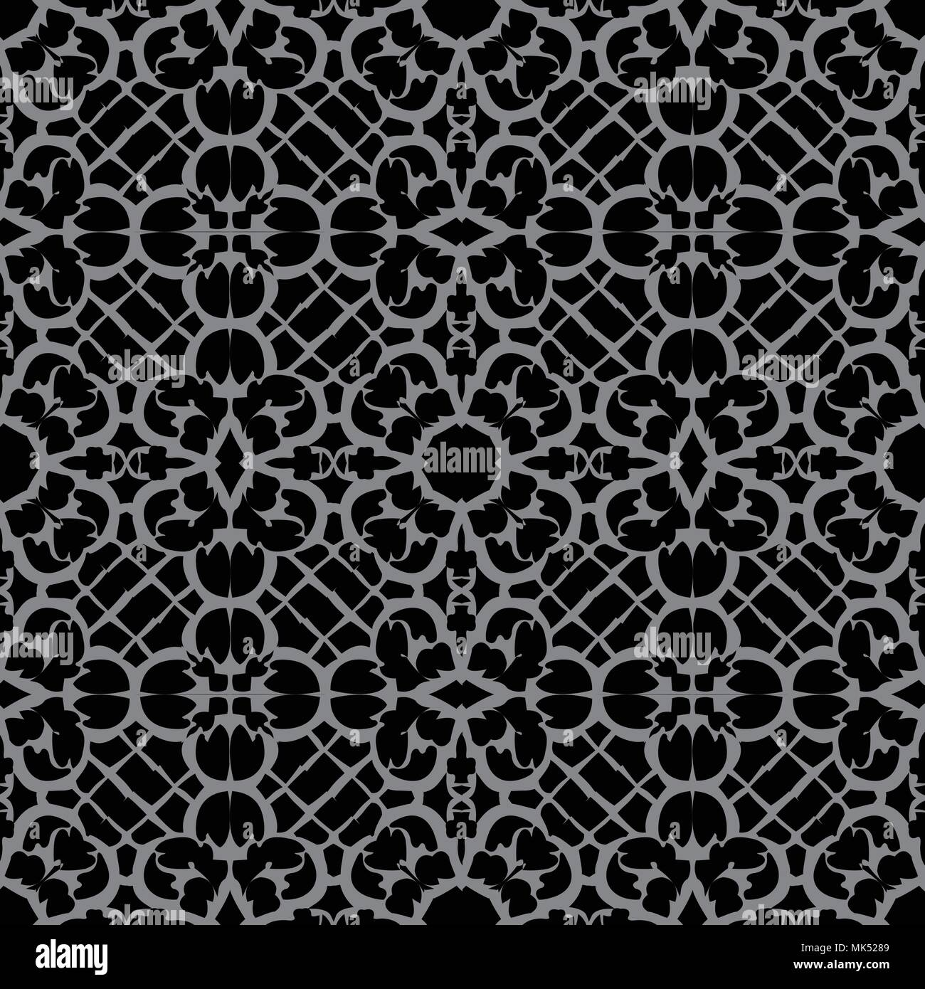 Antique seamless background Spiral Curve Cross Frame Flower Lace ...