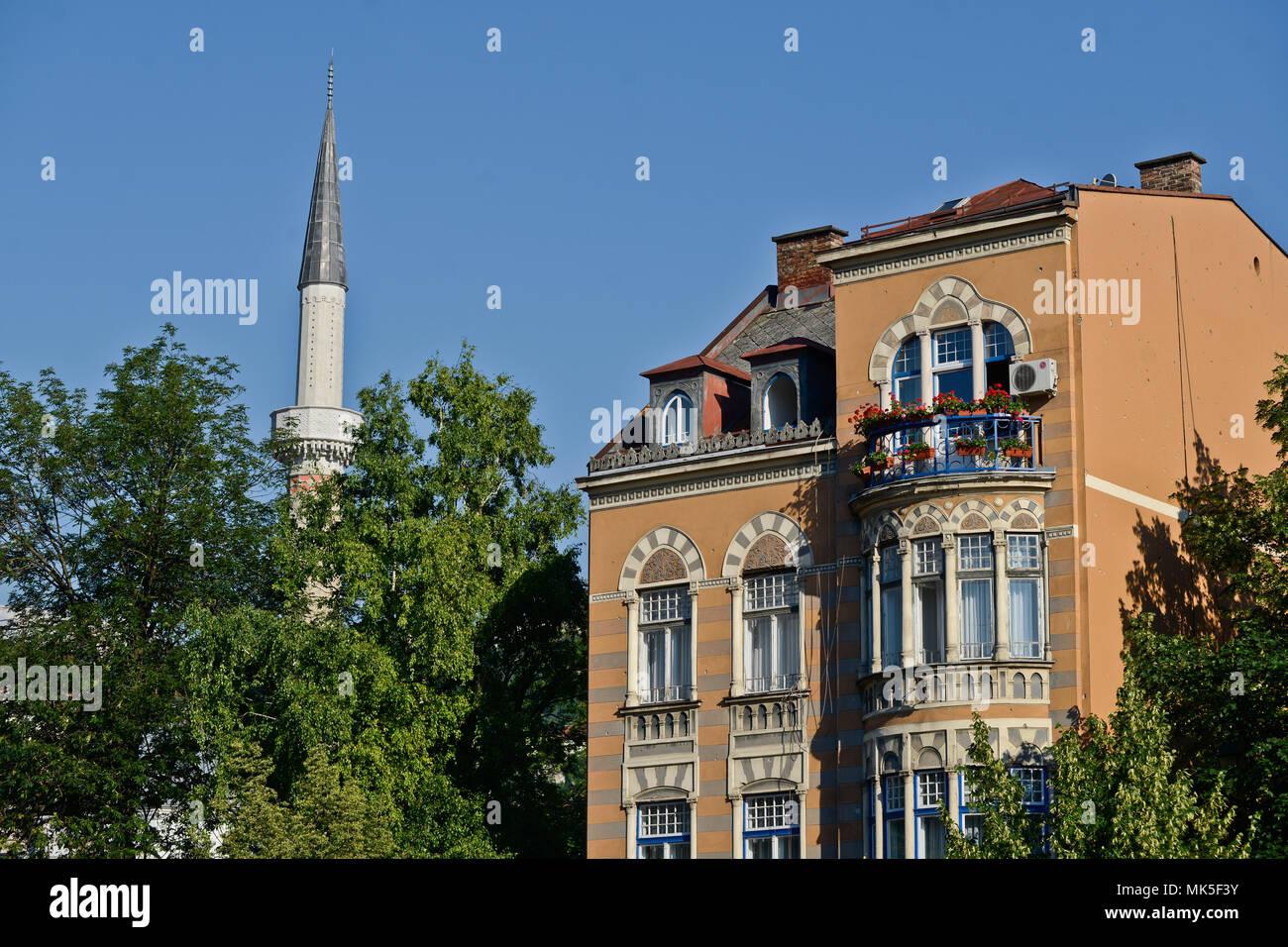 Islamic architecture, Sarajevo, Bosnia - Stock Image