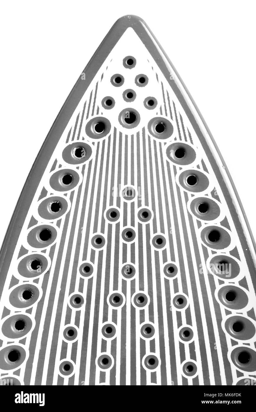 close up of an iron - Stock Image
