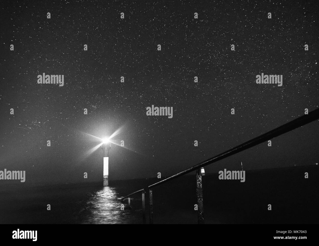 The stars in the sky - Stock Image
