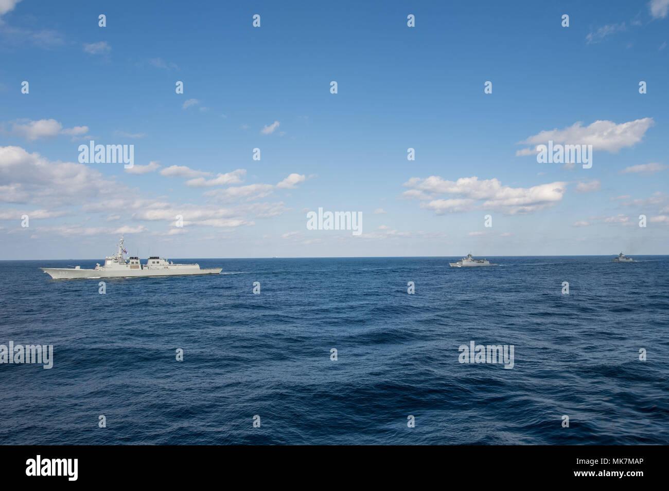 Three Carrier Strike Force Stock Photos & Three Carrier Strike Force ...