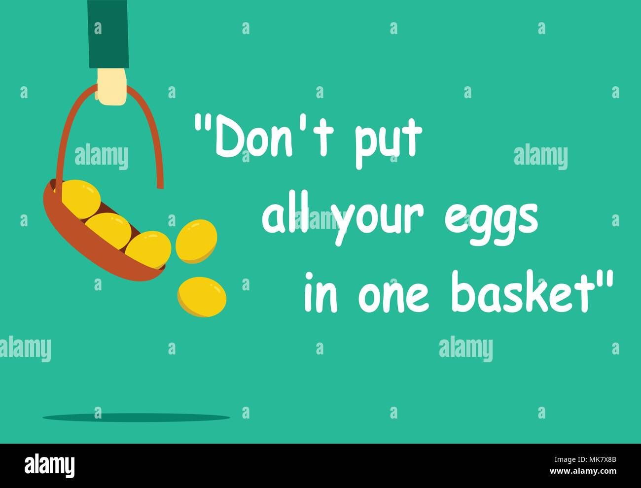 Dating eggs in one basket