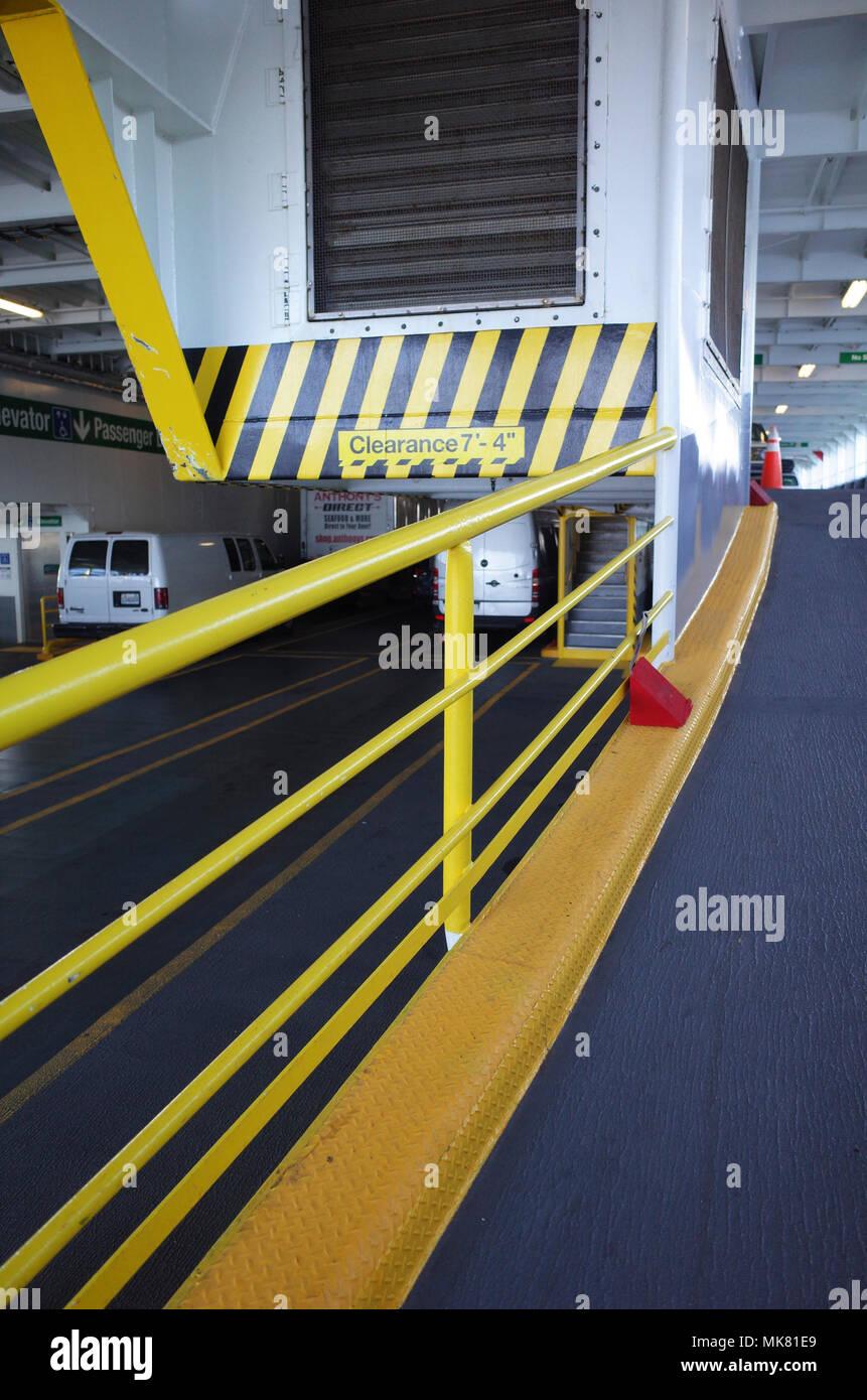 Washington State Ferry - Stock Image
