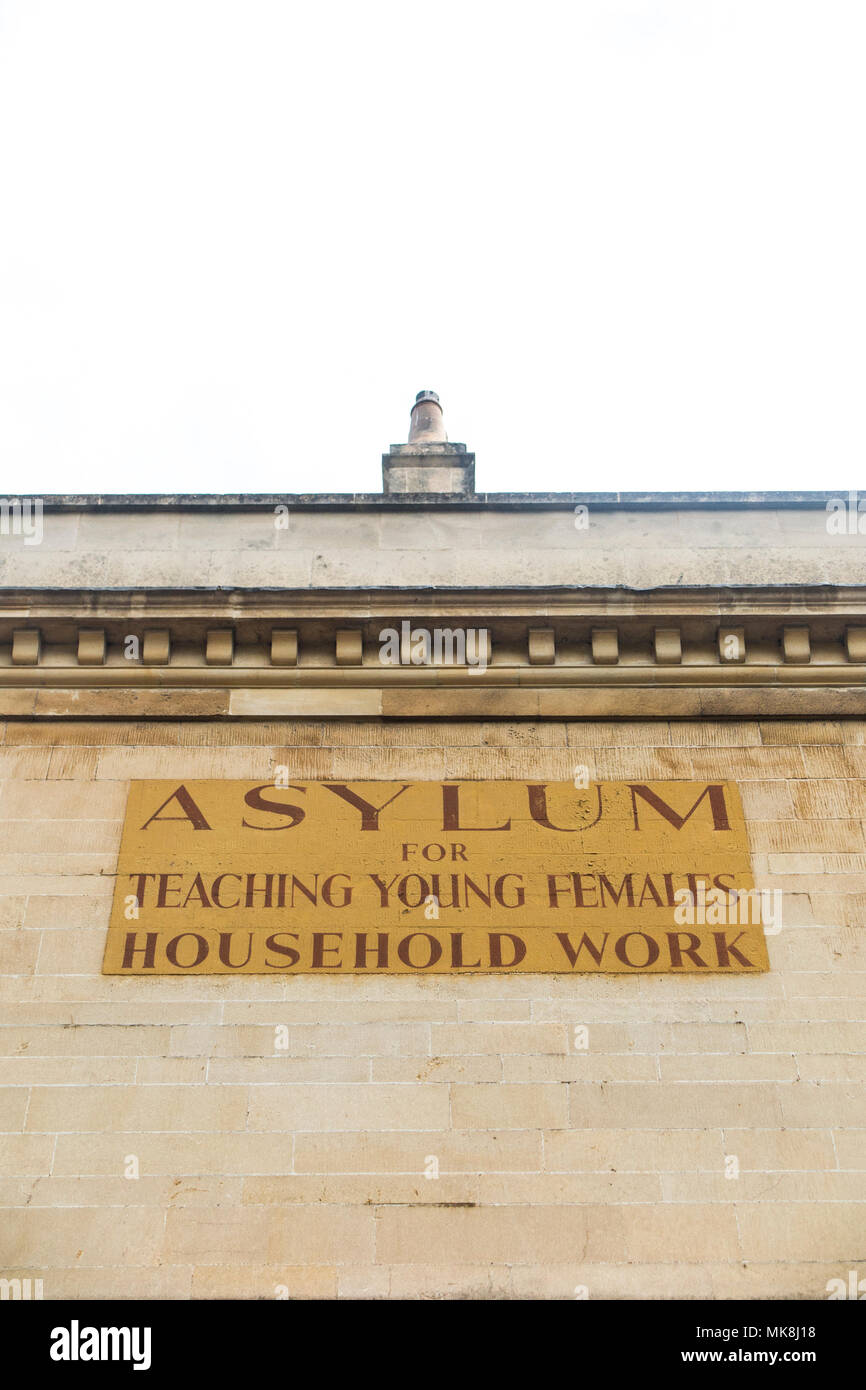 The Asylum for Teaching Young Females Household Work - Stock Image