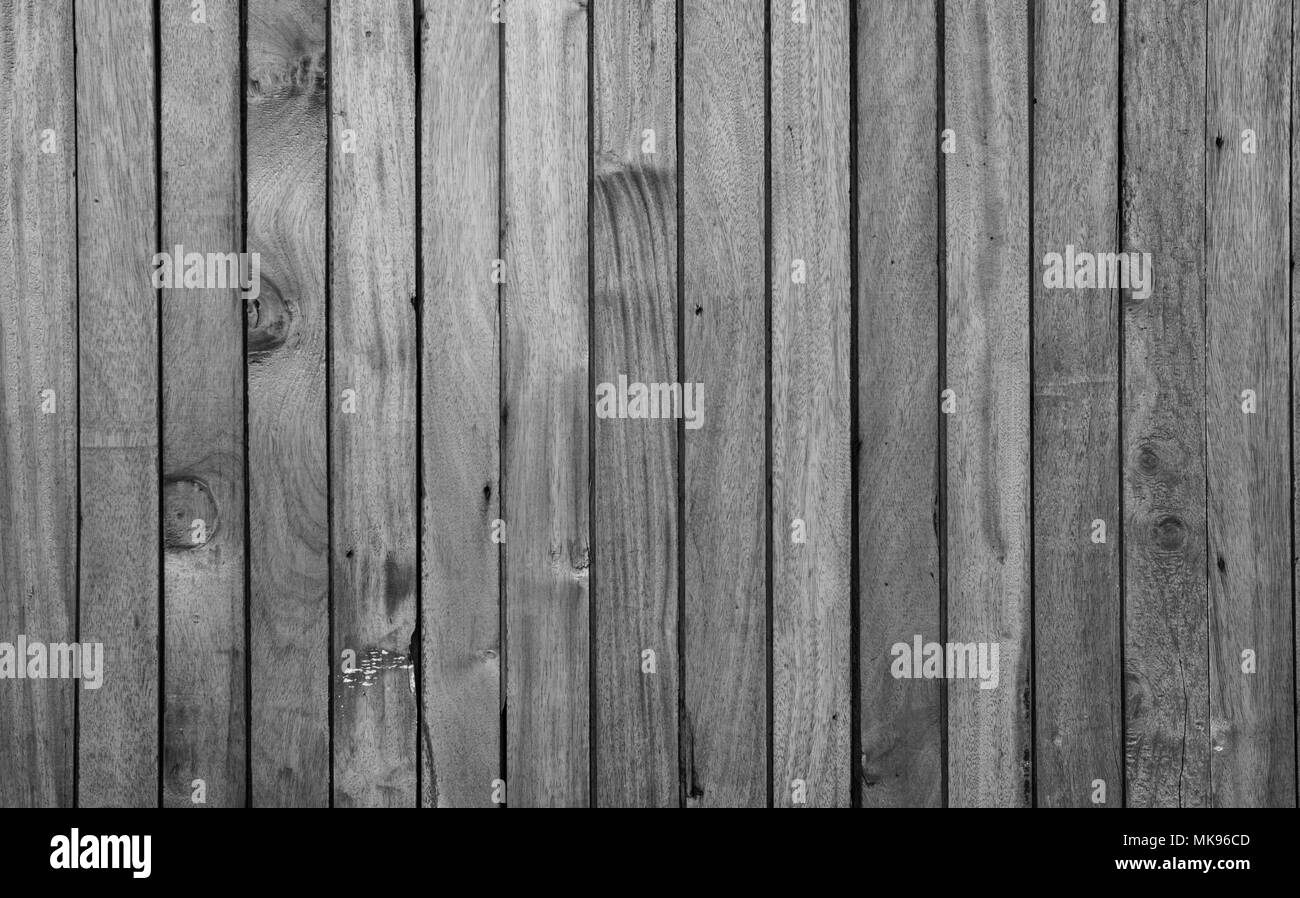Closeup gray wood with unique pattern texture background with copy space for text. Background for death, sad and grieving. - Stock Image