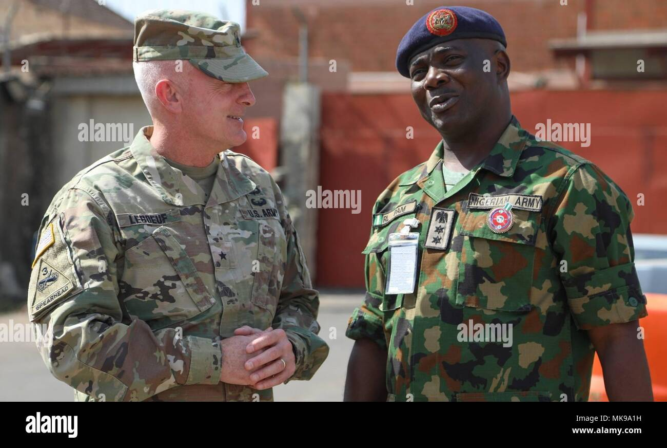 Brig  Gen  Eugene LeBoeuf, the U S  Army Africa acting