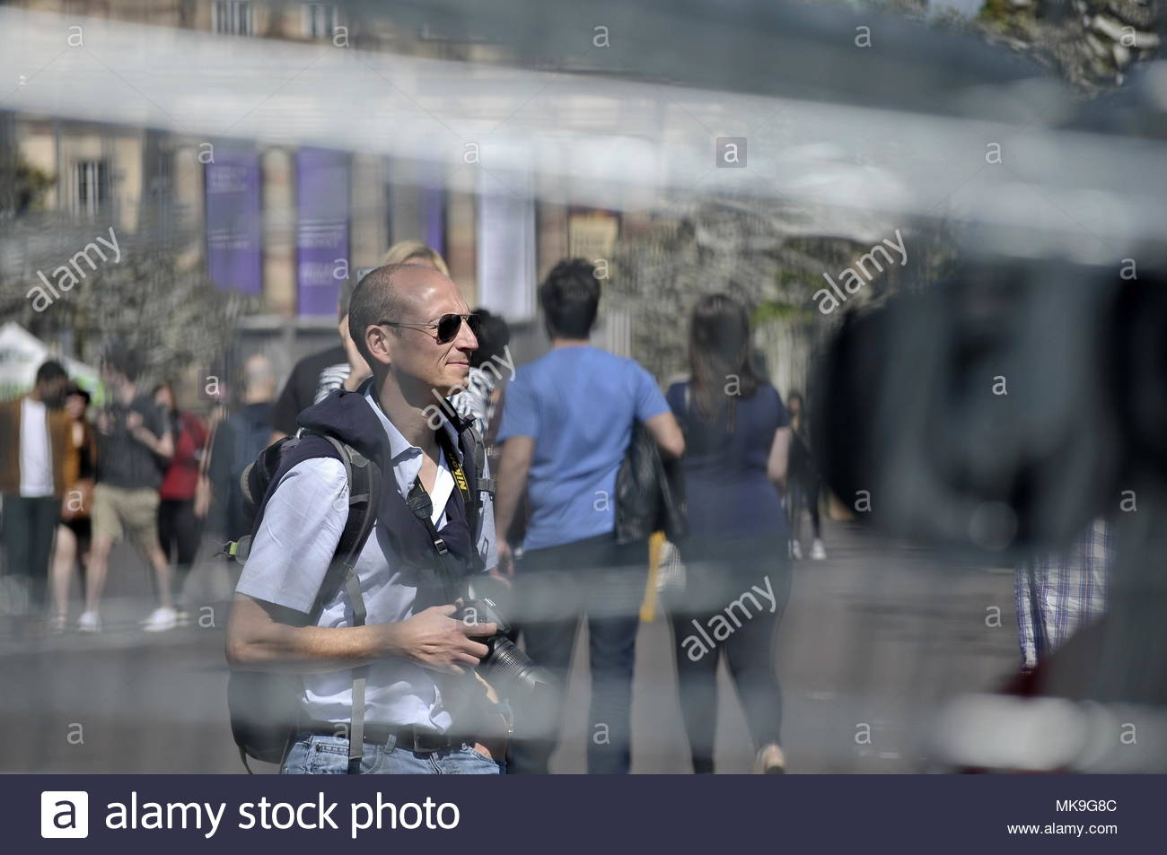 Walking people - Stock Image