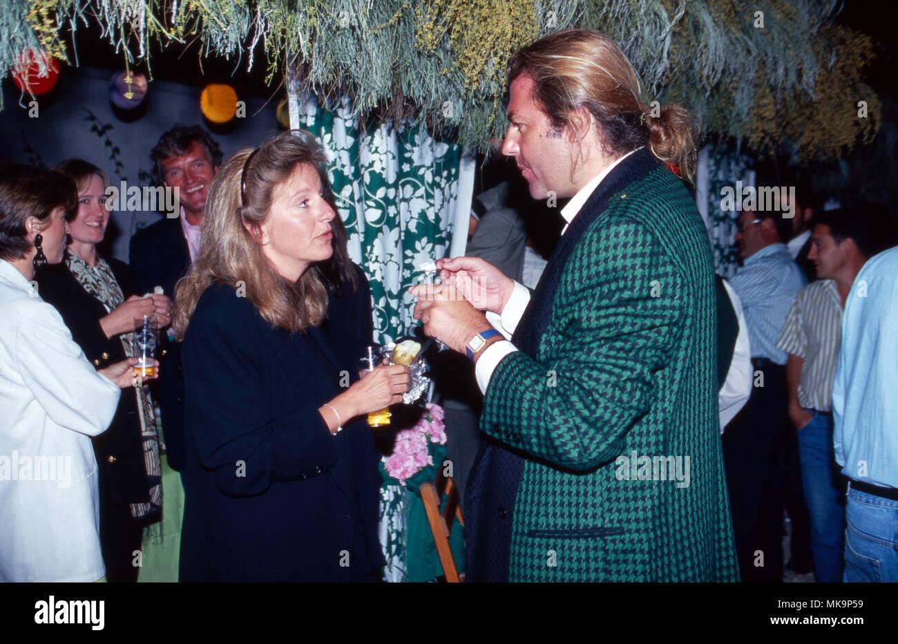 Prinzessin Chantal von Hannover mit Christoph Kiko Prinz von ...