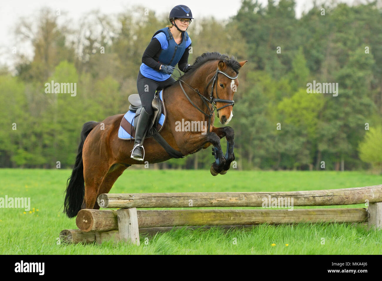 Cross country clinic - Stock Image