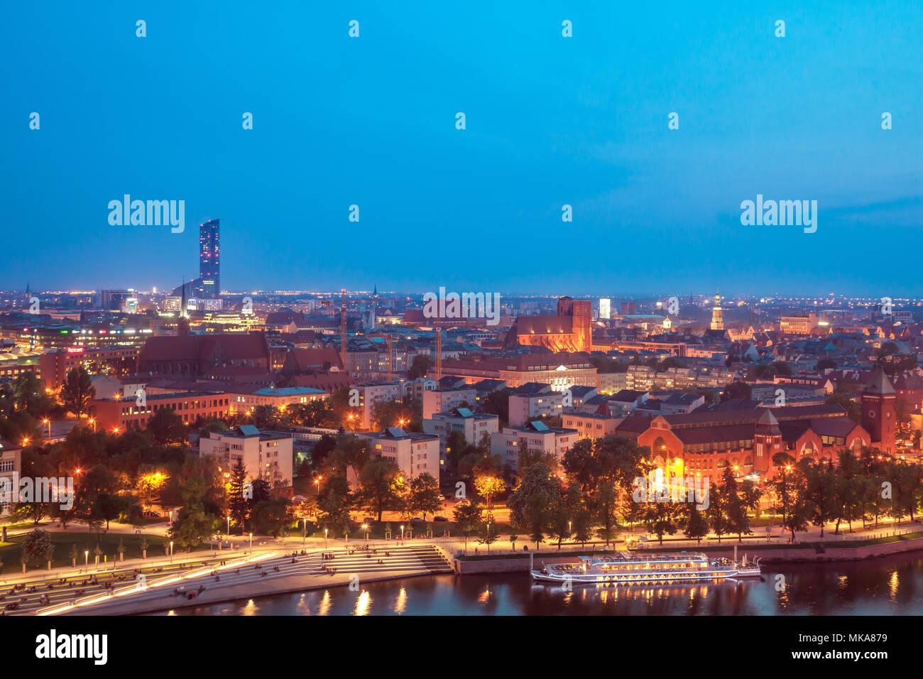 Wroclaw Poland - Stock Image
