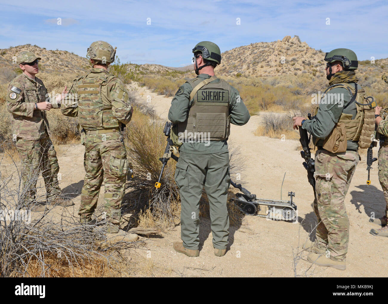 The Kern County Sheriff's Office Bomb Squad joined 12