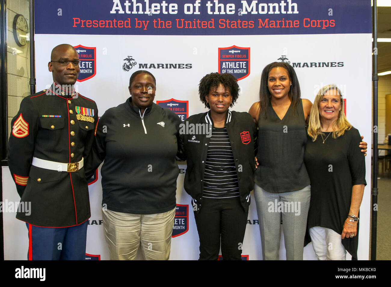 Athlete Of The Month Stock Photos & Athlete Of The Month