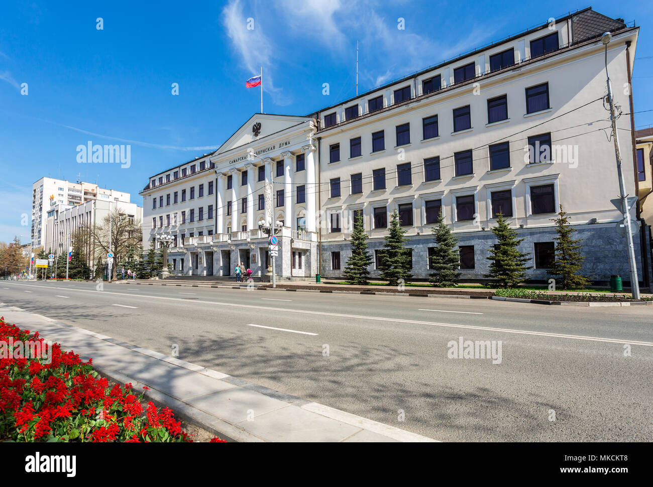 Reconstruction of the historical center of Samara started