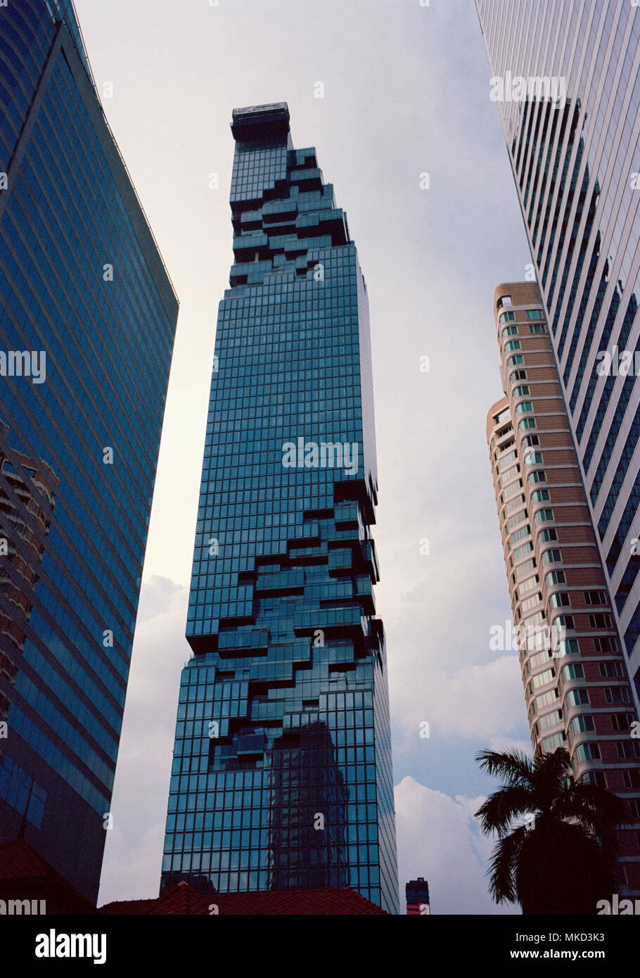 Bangkok Building Corporate Modern Architecture Buildings In