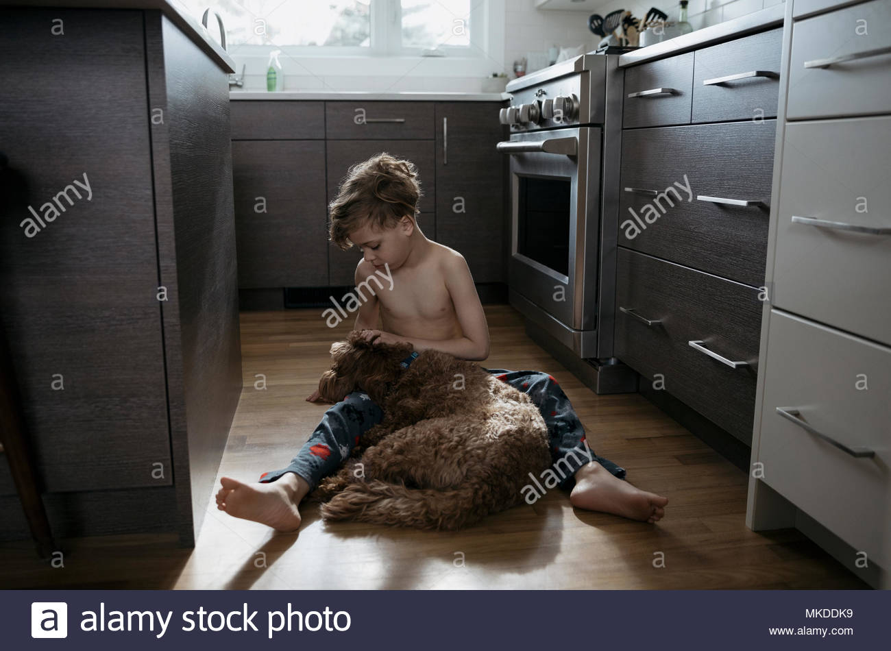 Teens Hot Pettings In The Kitchen
