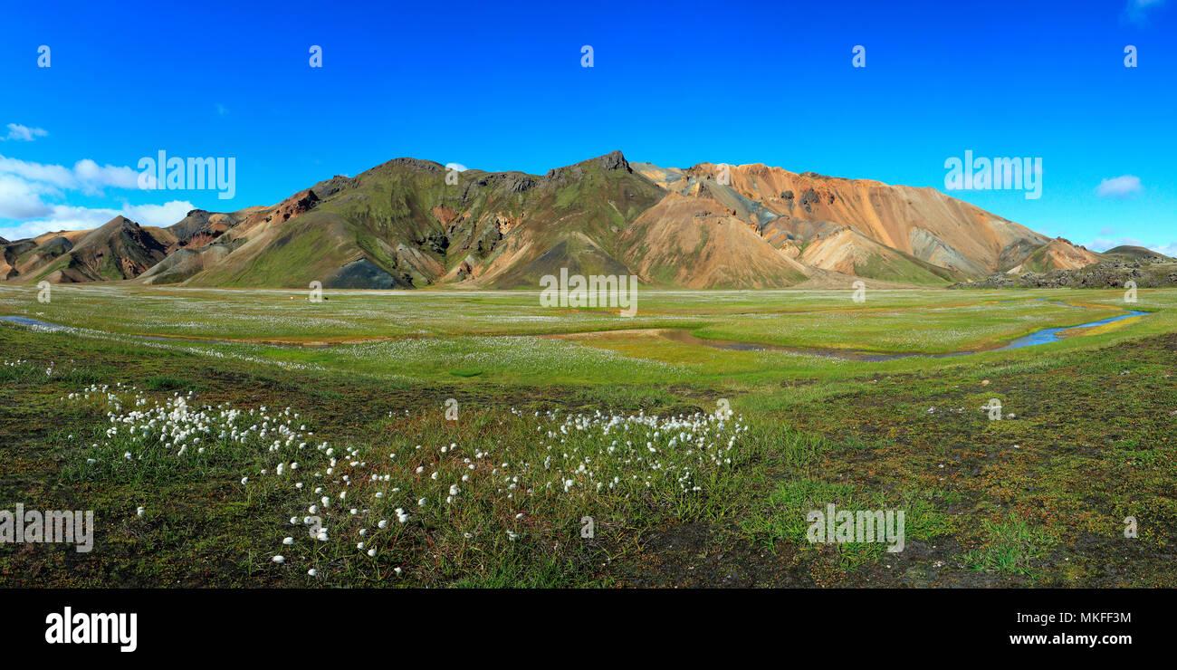 Fjallabak National Park Landmannalaugar, Iceland Stock Photo