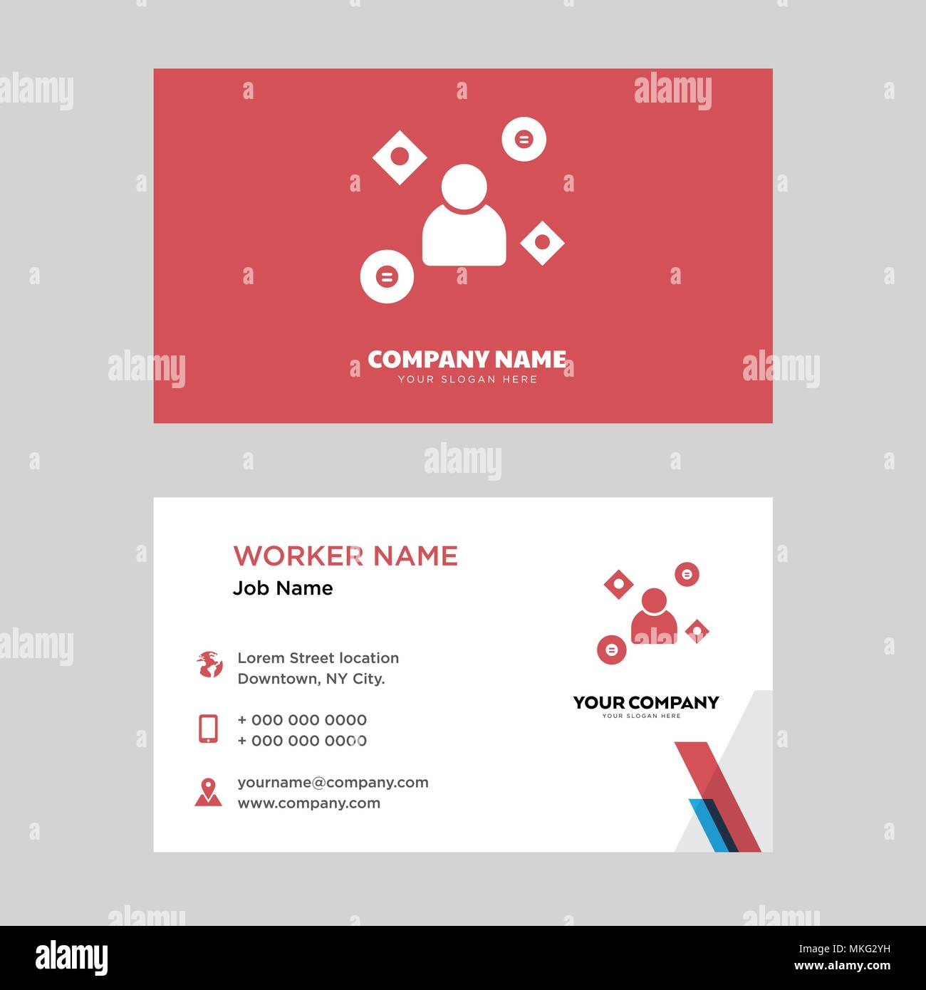 Business Card Auto Mechanic Car Stock Vector Images - Alamy