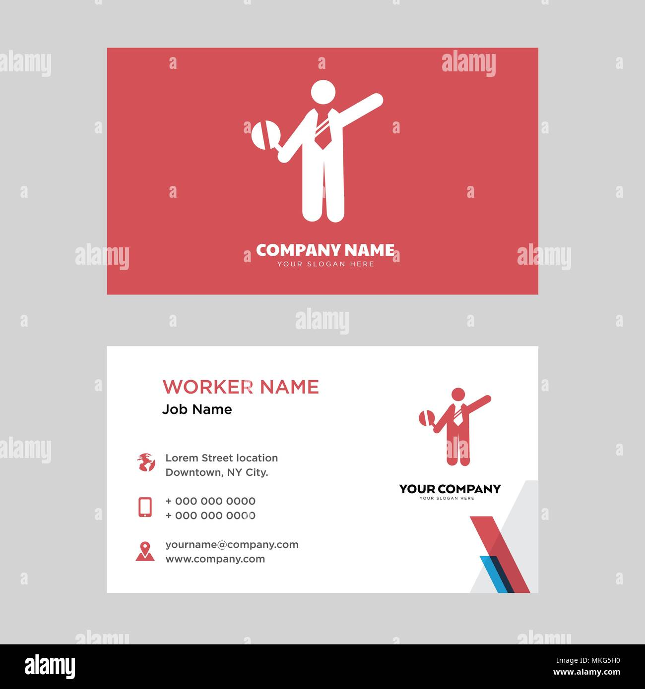 Traffic police business card design template visiting for your traffic police business card design template visiting for your company modern horizontal identity card vector fbccfo Gallery