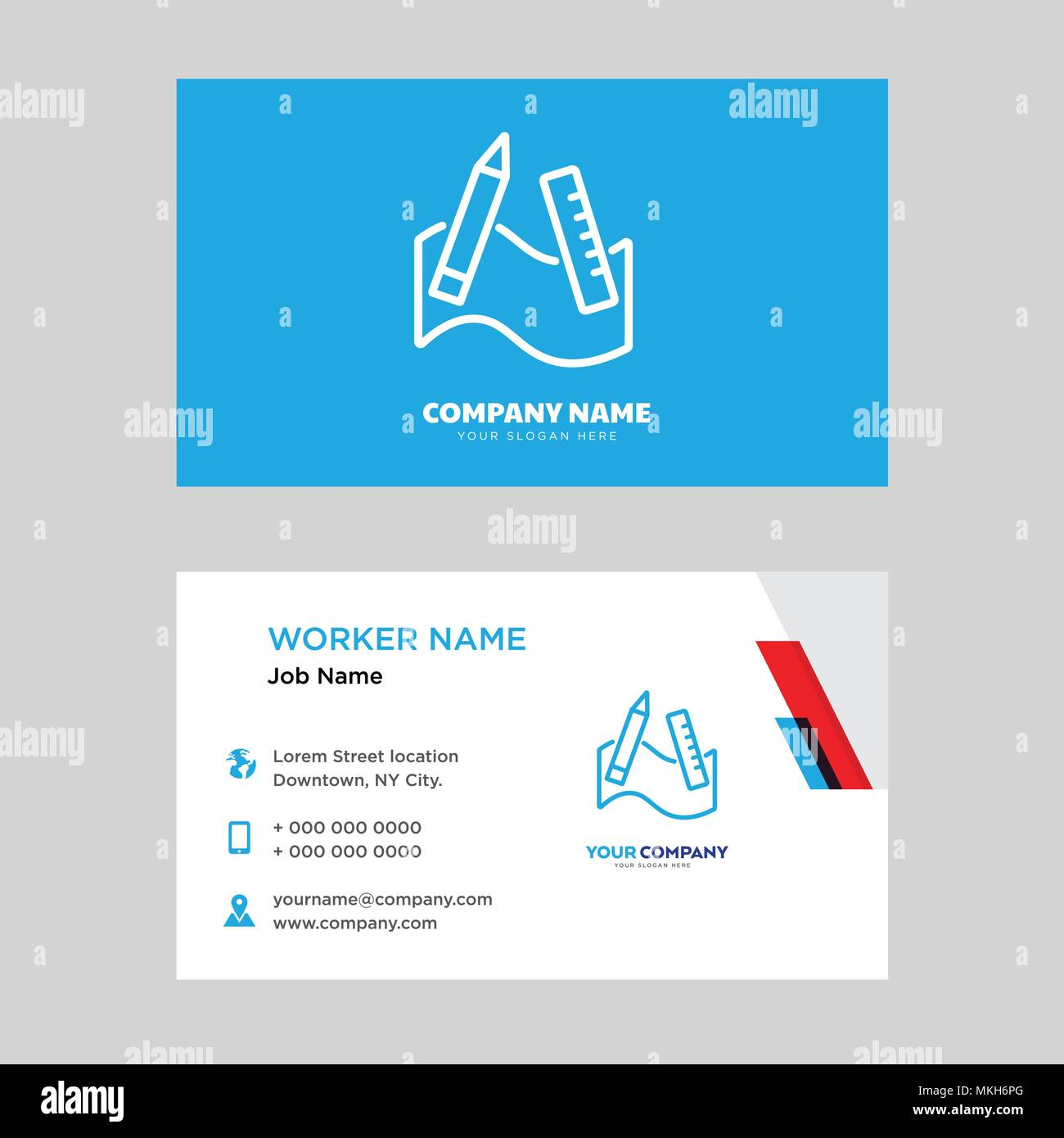 Graphic Tool Business Card Design Template Visiting For Your